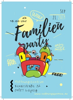 Familienparty Flyers 1a